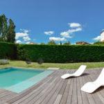 belle piscine à Lyon