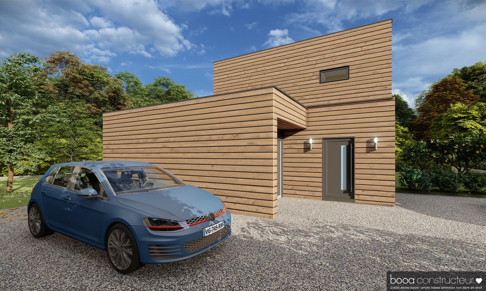 projet d'une maison dans la Rhône